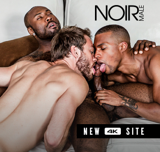 Noir Male. Interracial Gay Porn.