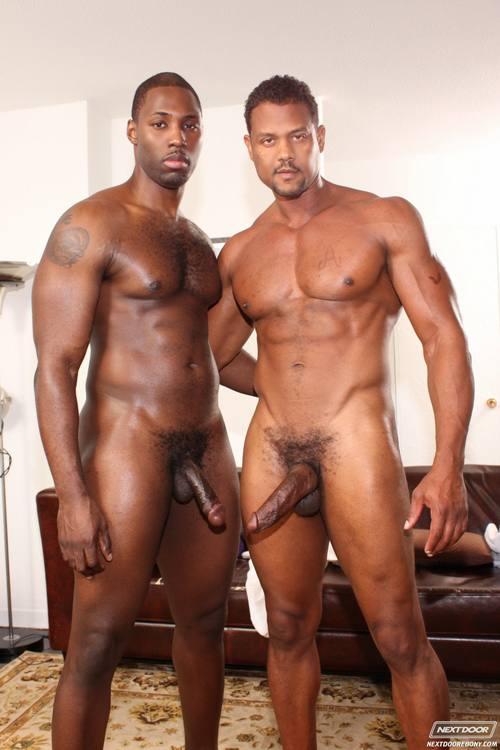 black muscle Big cock gay