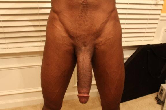Shaved black cock