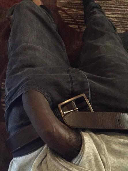 Black cock jeans